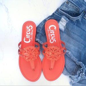 *NEW* Sam Edelman Circus Canyon Coral Sandals 7.5